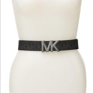 Michael Kors Signature 'MK' Signature Logo Belt